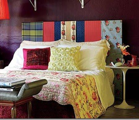Cabeceiras de cama originais decora o e inven o - Telas para cabeceros ...
