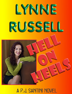 "CLICK ON THE BOOK FOR MY  P.J. SANTINI NOVEL ""HELL ON HEELS""!"