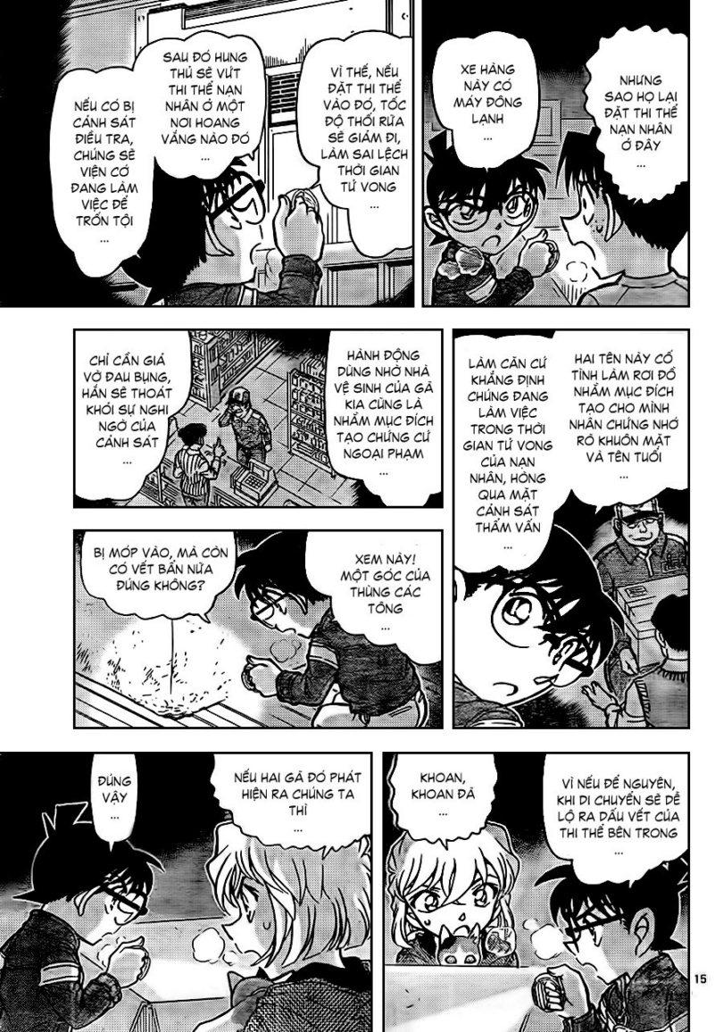 Detective Conan - Thám Tử Lừng Danh Conan chap 841 page 17 - IZTruyenTranh.com