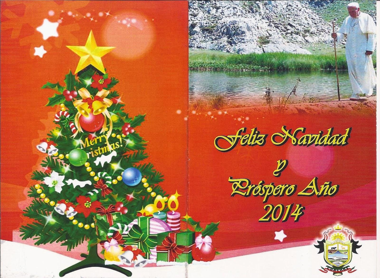 !FELIZ NAVIDAD Y AÑO NUEVO 2014!
