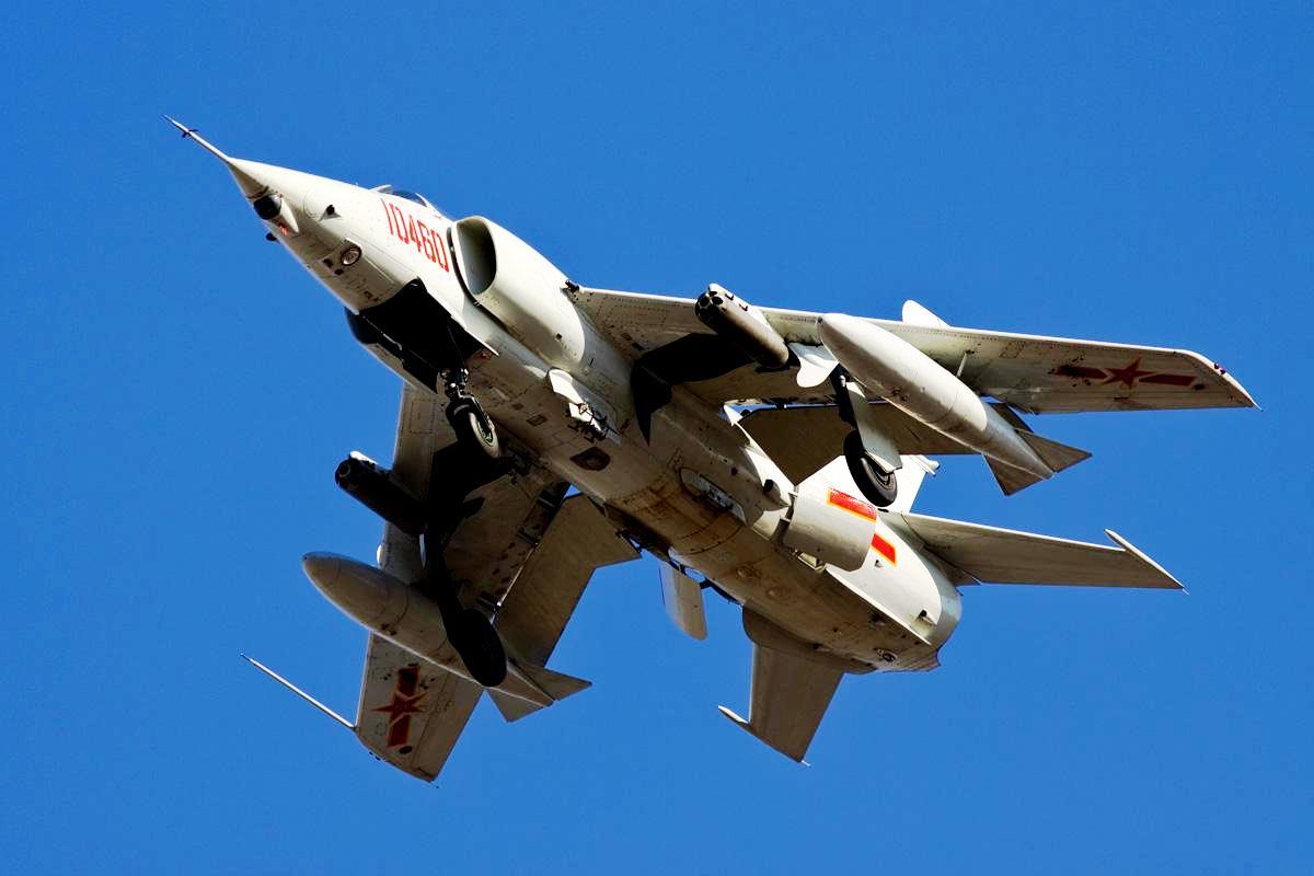 Nanchang Q-5 Fantan Jet Fighter Wallpaper 2