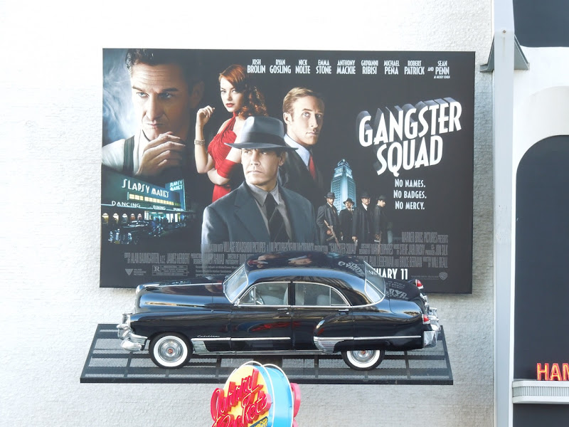 Gangster Squad movie exhibit Petersen Automotive Museum