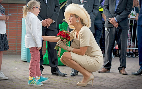 Queen Maxima At The Ambassador Days In Amsterdam