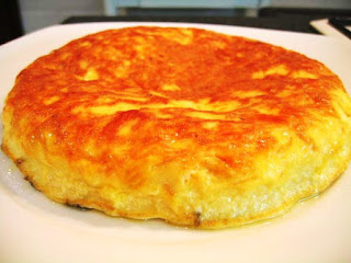 Receta de tortilla de queso