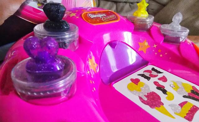 blingles glitter glimmer glam plastic studio tray