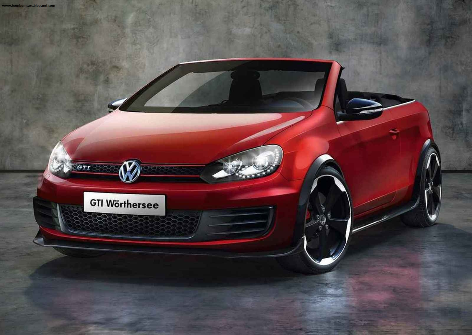 Visual Highlights: The Front Fog Lights Of The GTI Gave Way To Air Guides  For Ventilating The High Performance Brake System That Is Used In The  Cabriolet.