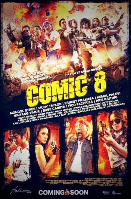 Comic 8 (2014) movie review by Wildan Hariz