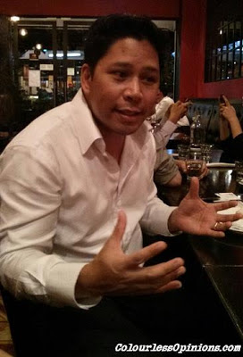 ONE FC CEO Victor Cui in Bangsar KL Malaysia