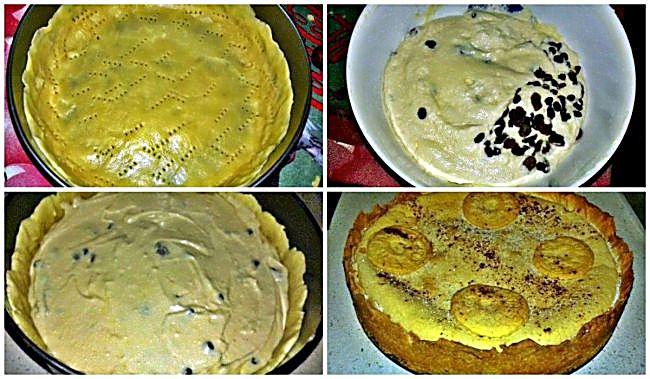 Preparación de la tarta de requesón