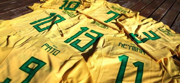 Camisetas Brasil en la Copa America