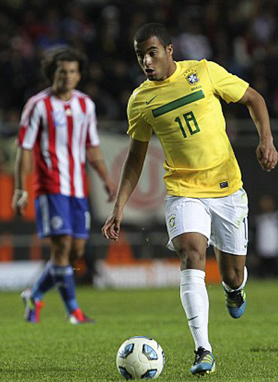 Lucas Moura Sao Paulo 2012-2013