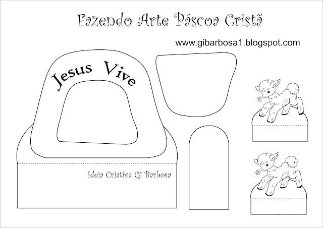 Fazendo Arte - Páscoa Cristã Ressurreição de Cristo