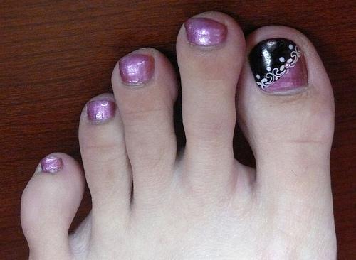 las mejores uñas decoradas de pies, fotos de uñas de los