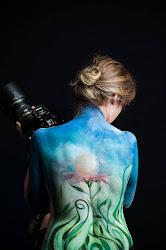 Body Art  di Massimo Nardi model Letizia Gatti - Nature Mutamenti