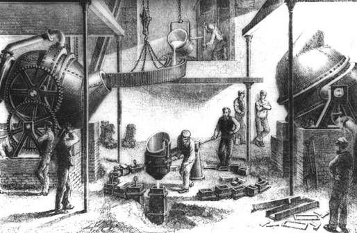 Industrial Revolution Bessemer Steel Process