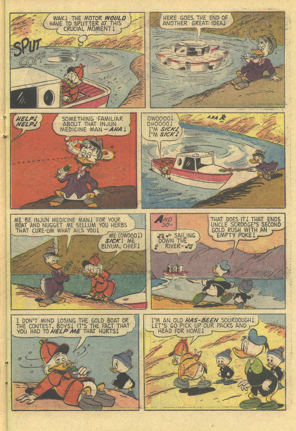 Uncle Scrooge (1953) Issue #86 #86 - English 23