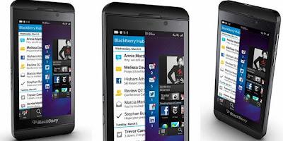 Blackberry Z10 Siap di Jual di Indonesia