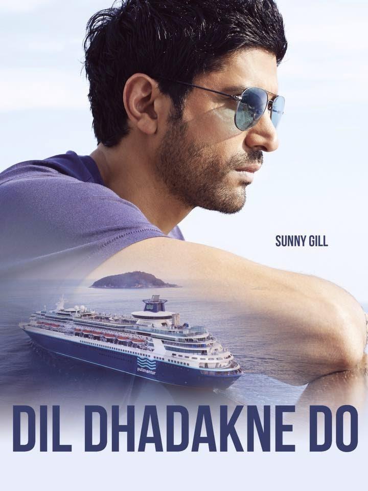 Dil Dhadakne Do Farhan Akhtar as Sunny Gill
