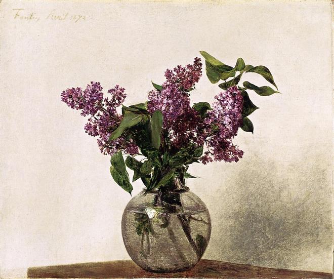 Lilacs, Henri Fantin-Latour, 1872