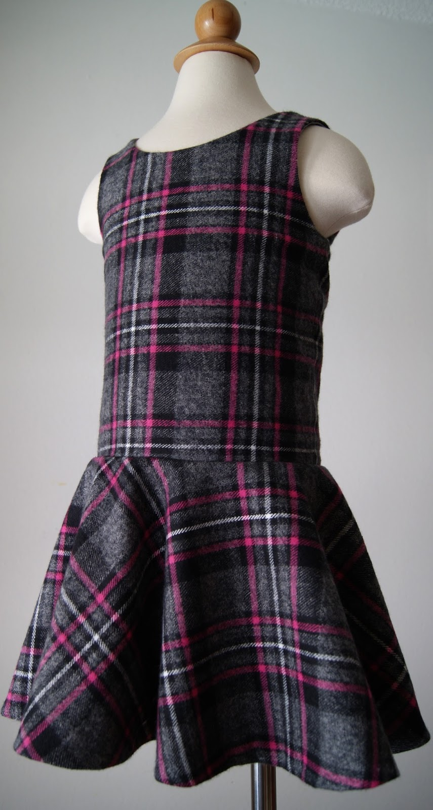 Plaid Dress by nestfullofeggs