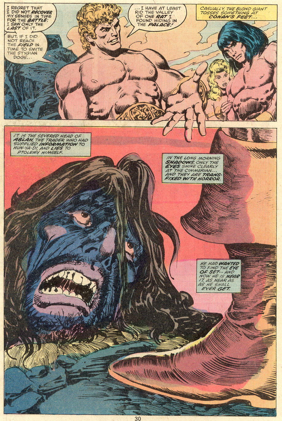 Conan the Barbarian (1970) Issue #81 #93 - English 17