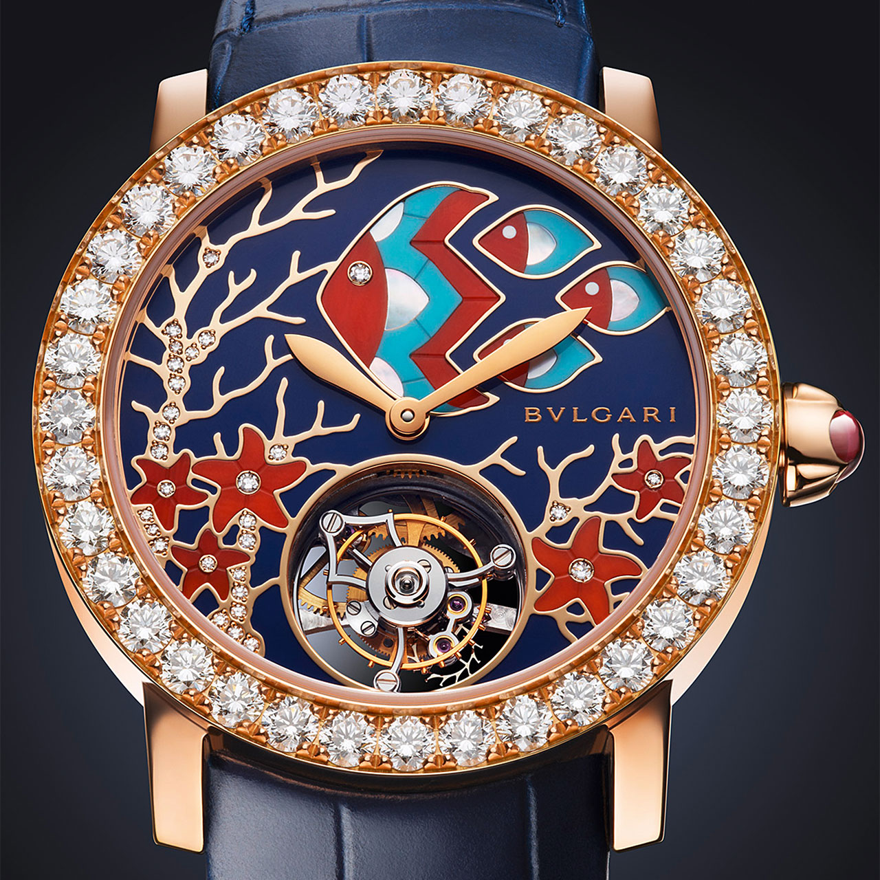 BulgariI Il Giardino Marino Automatic Watch