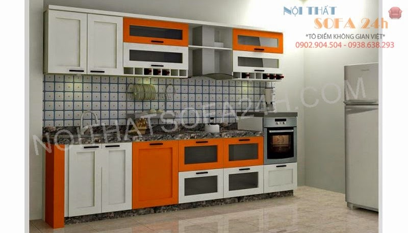 Tủ bếp TB073