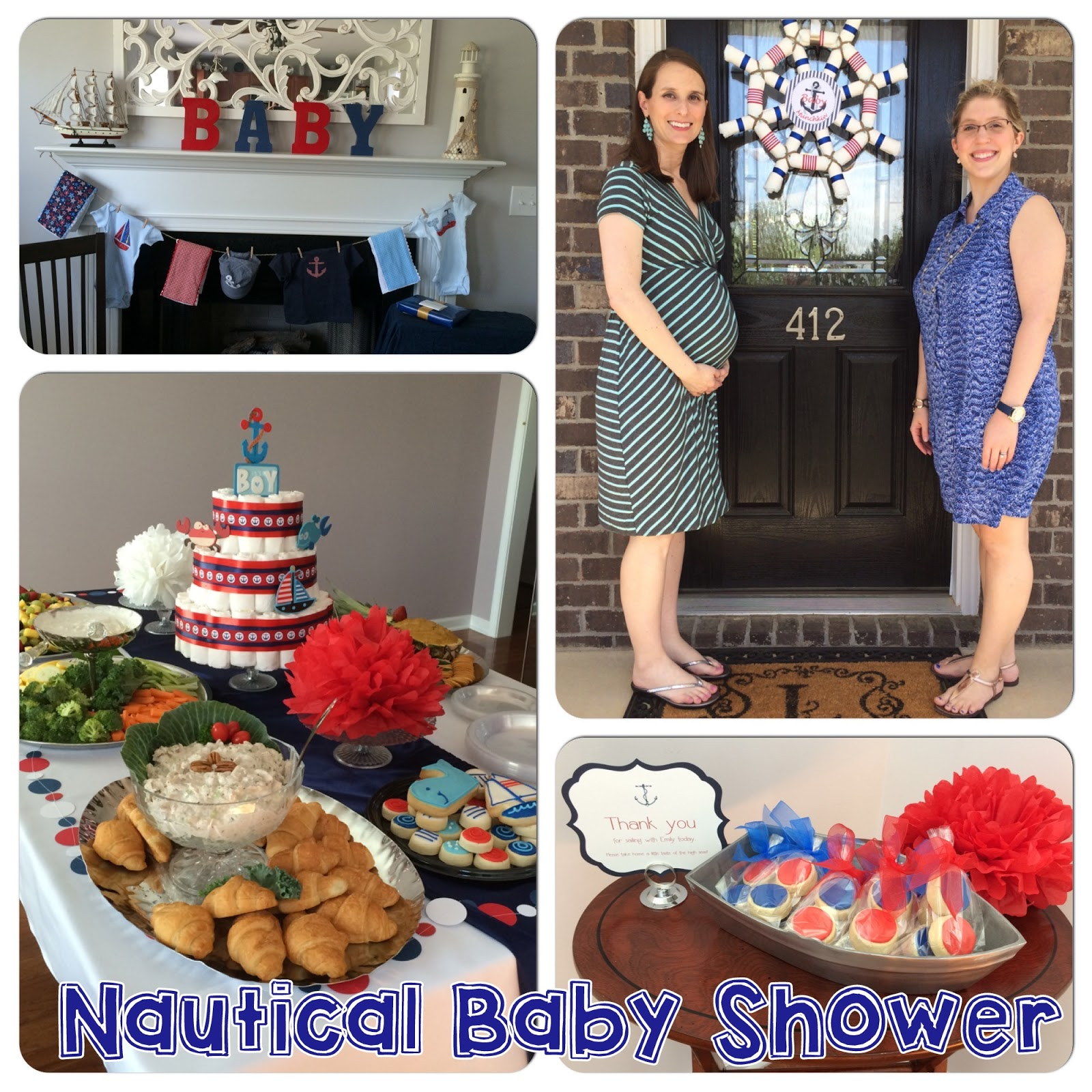 My Nautical Baby Shower LaForce Be With You