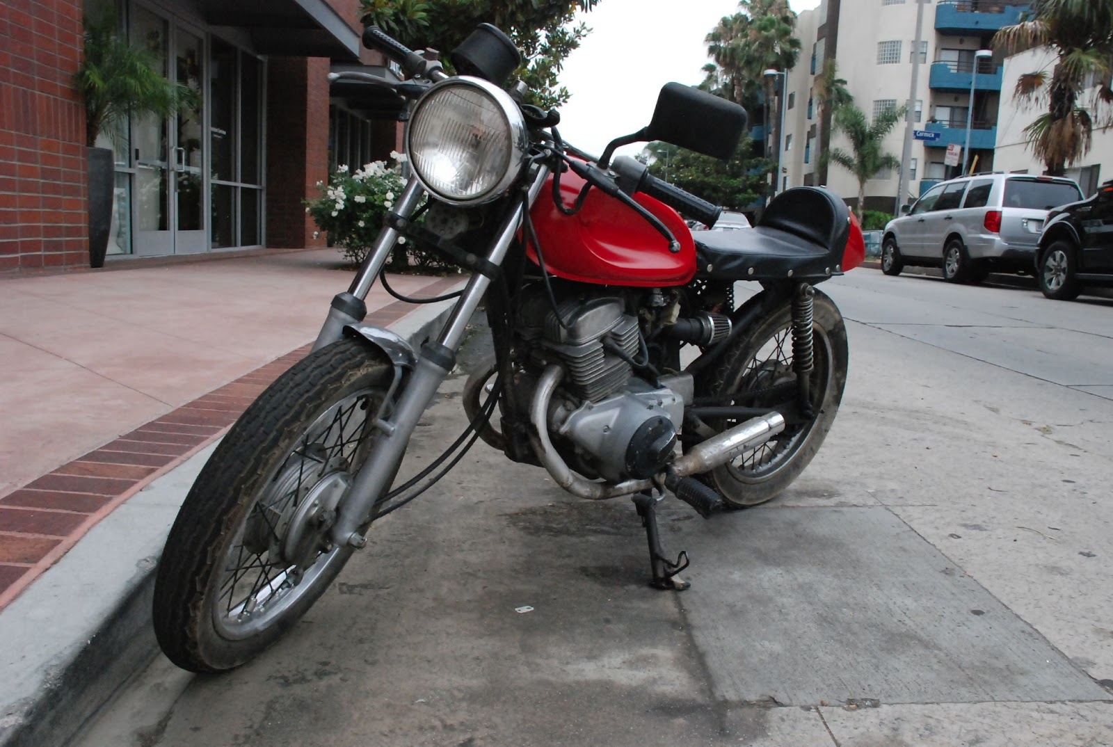 Honda rebel with a splash of cafe north holllywood street for North hollywood honda yamaha suzuki