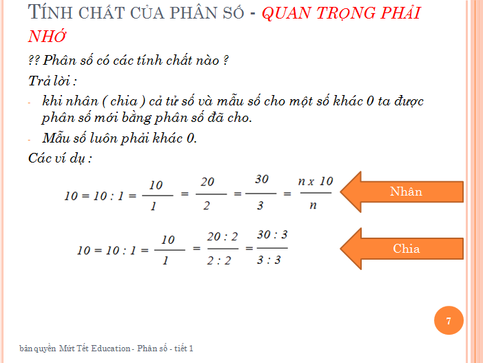 Bài tập phân số toán lớp 5 - rút gọn phân số(7)