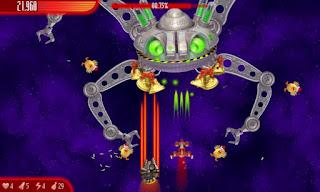 Chicken Invaders 4 Xmas v1.00ggl APK: game bắn gà không gian phiên bản giáng sinh (hack)