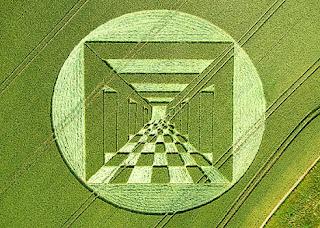 cerchio nel grano, scacchiera