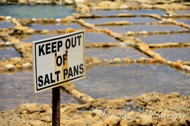 Salt Pans Qbajjar Gozo Malta by Monika Mukherjee
