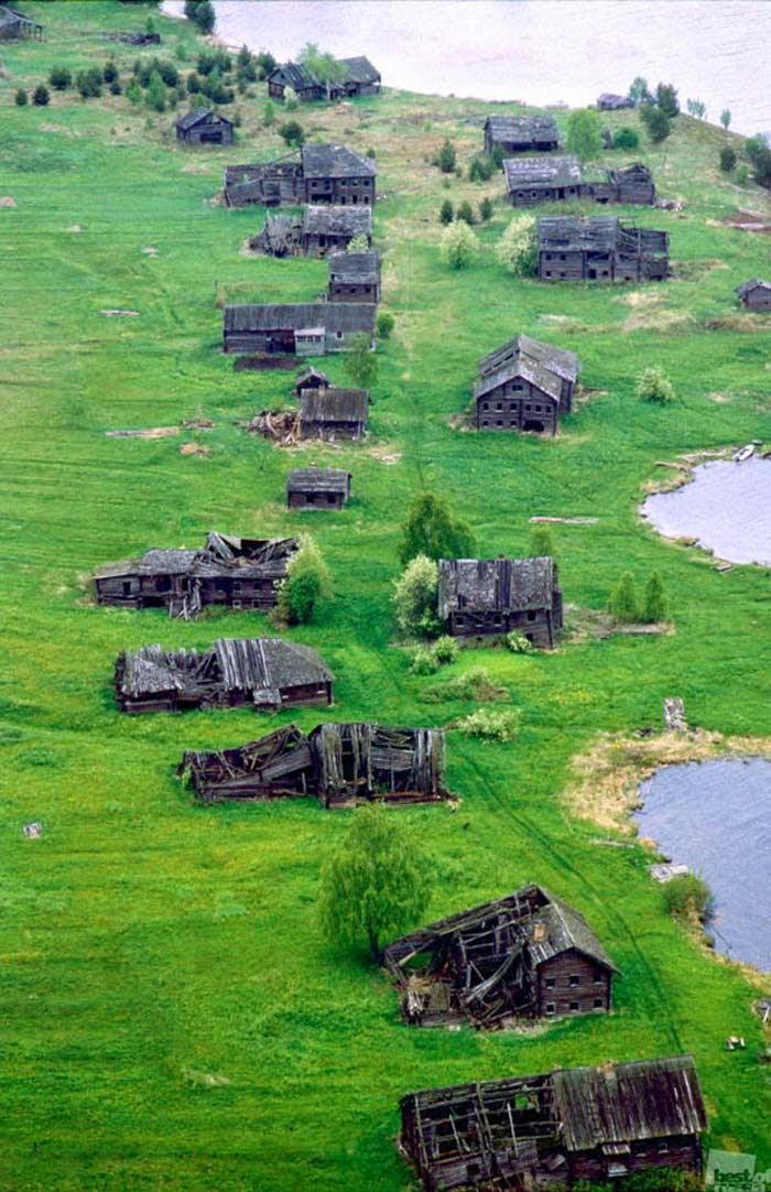 Ghost Villages and Homes