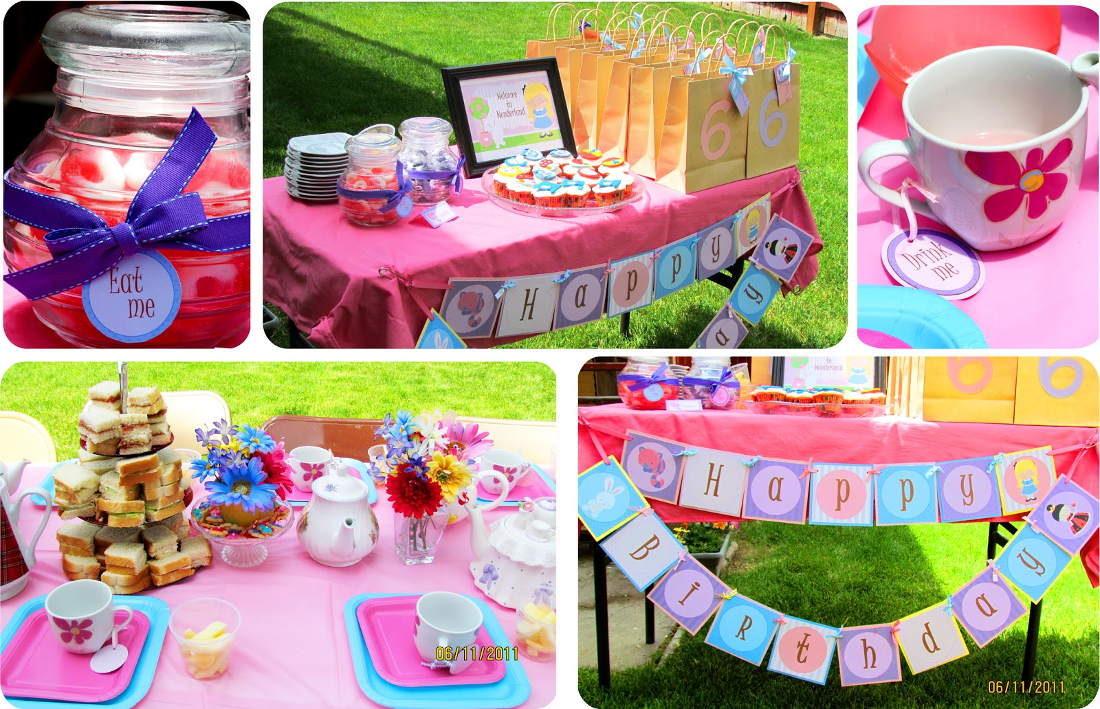 Tea party decorations party favors ideas - Mad hatter tea party decoration ideas ...