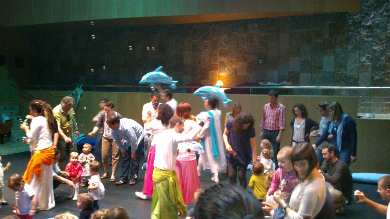 espectacle per nens de 1 a 2 anys al palau de la música de Barcelona