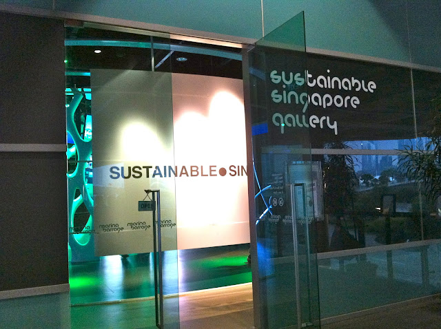 Sustainable Gallery At Marina Barrage