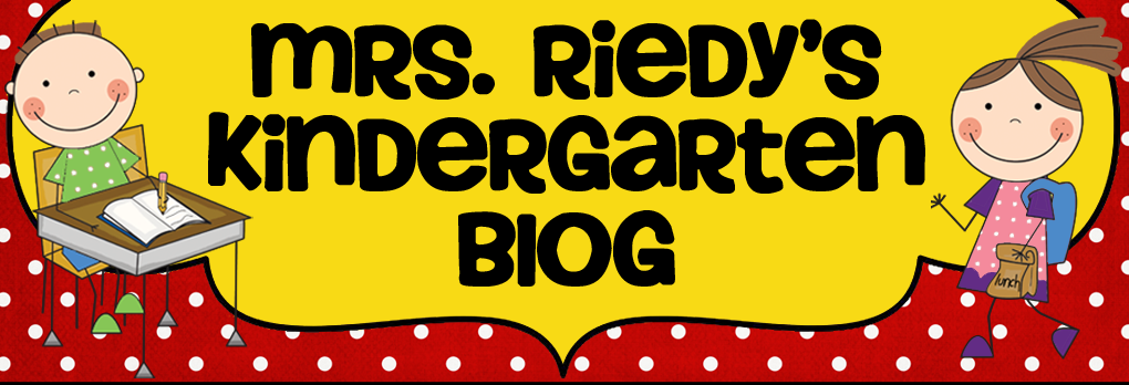 Mrs Riedy's Kindergarten Blog