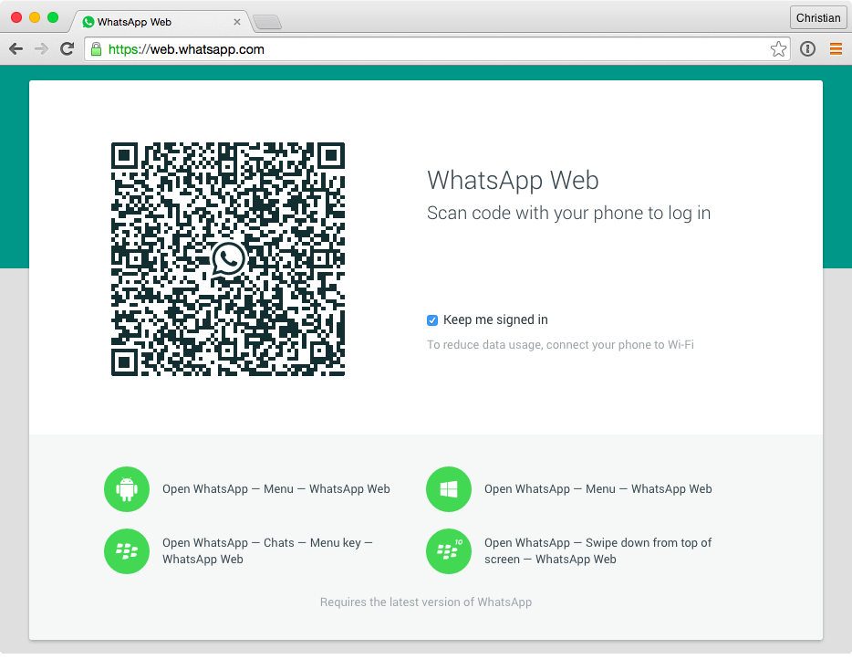 You Can Now Use Whatsapp In Google Chrome Here S How