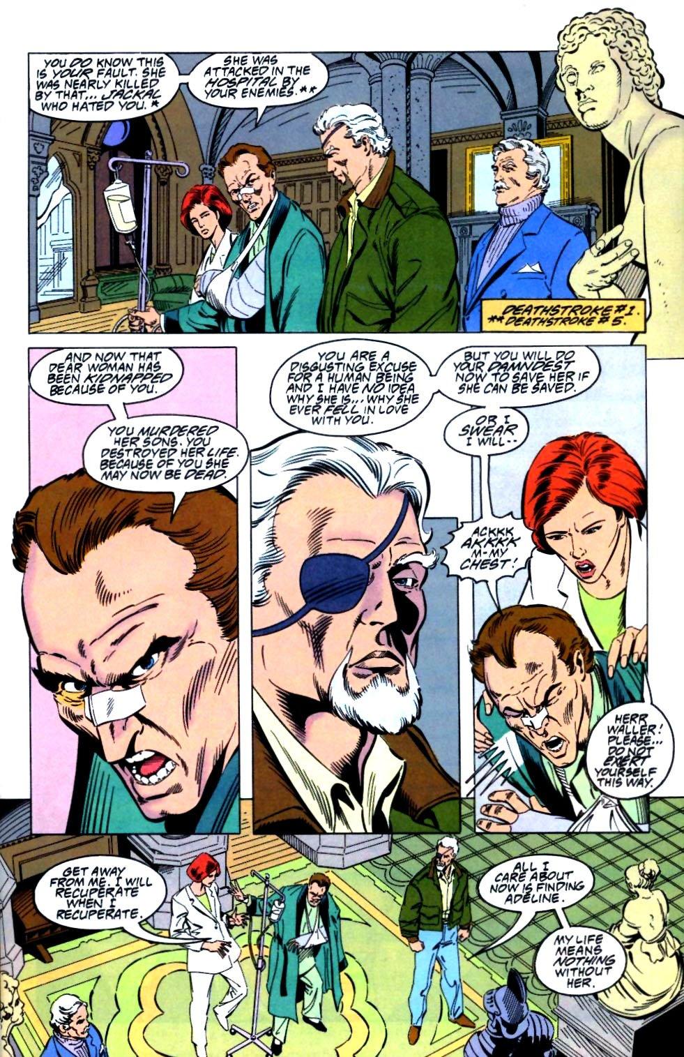 Deathstroke (1991) Issue #27 #32 - English 6