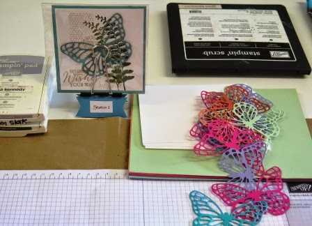 Station 2 ready to play Occasional catalogue launch zena kennedy independent stampin up demonstrator