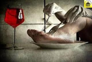 Cara makan yang di luar kebiasaan....!!!