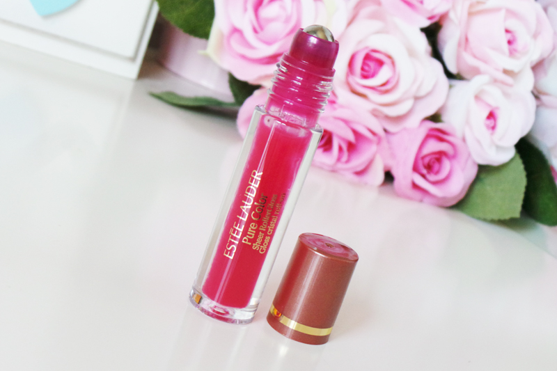 estee lauder pure color sheer lipgloss 02 squeeze review - lauras all made up - uk beauty blogger