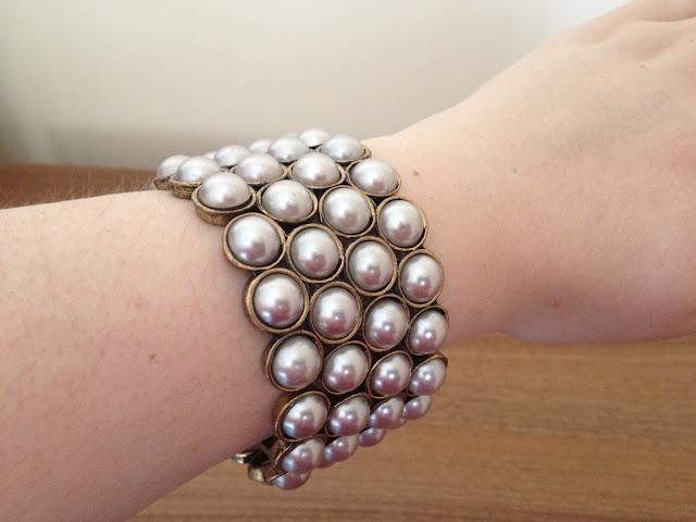 Primark Stretch Pearl Bracelet