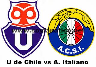U de Chile vs Audax 2013