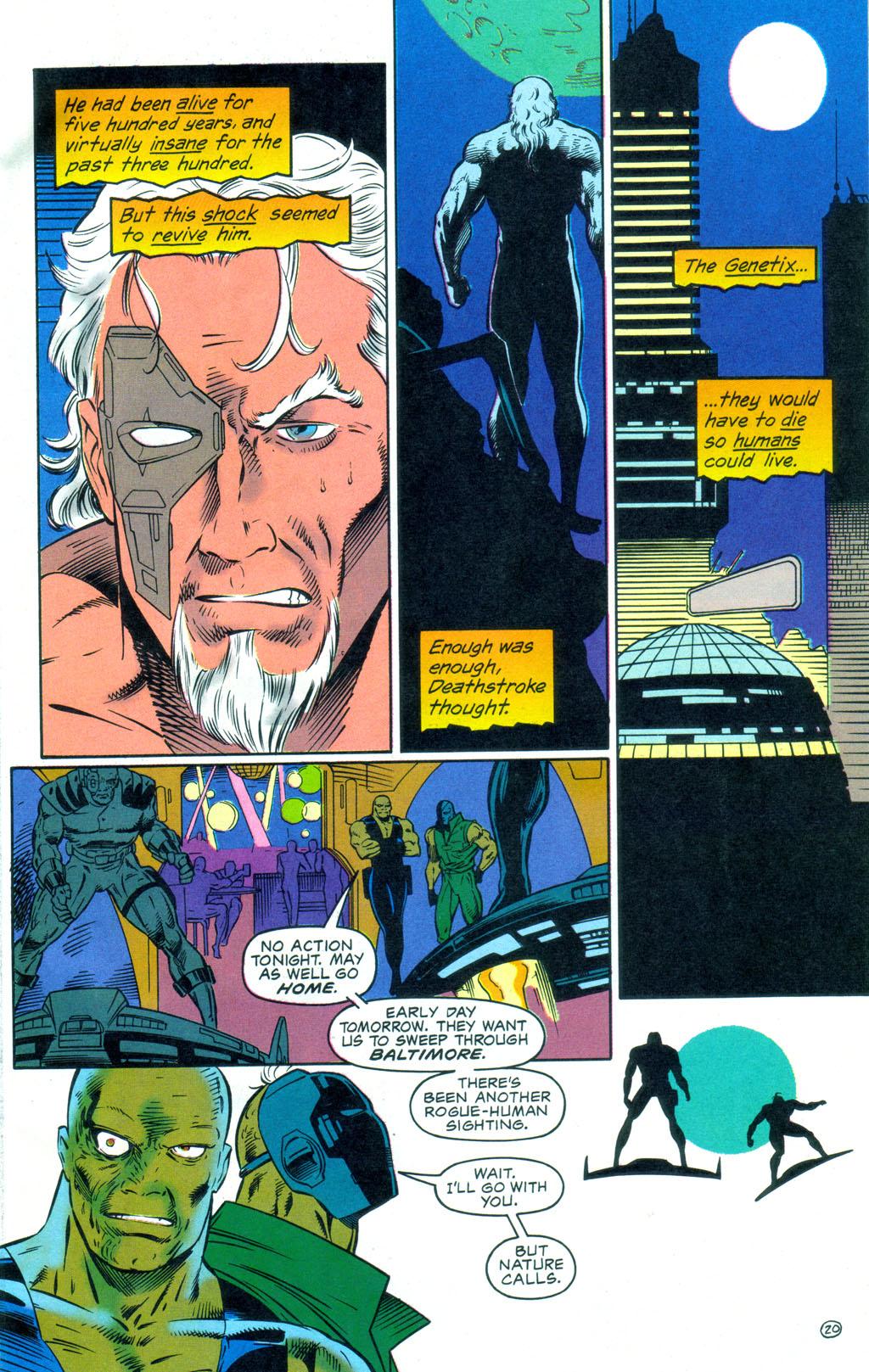 Deathstroke (1991) Annual 3 #3 - English 21