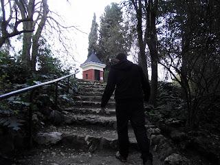 Escaleras del parque de la fuente del berro