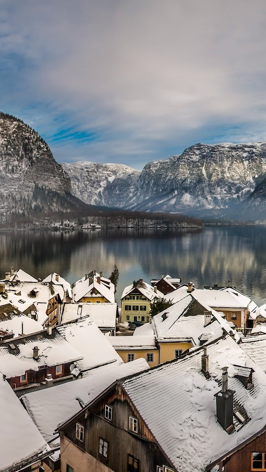 Austria Lake Hallstatt Galaxy Note HD Wallpaper