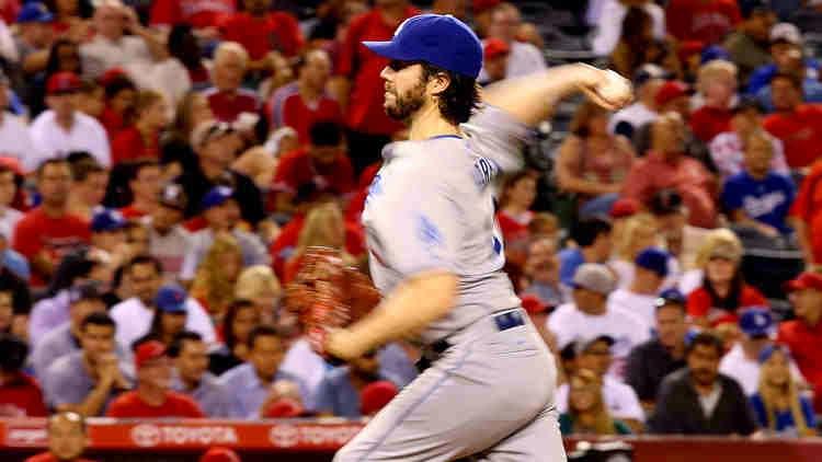Dodgers Dan Haren