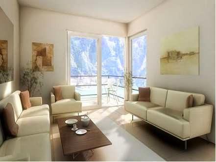 Desain ruang keluarga minimalis 5
